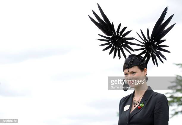 Jasmine Guinness attends Ladies Day of Royal Ascot as Ascot Racecourse on June 18 2009 in Ascot England