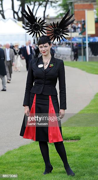 Jasmine Guinness attends Ladies Day of Royal Ascot at Ascot Racecourse on June 18 2009 in Ascot England