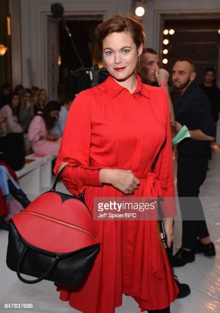Jasmine Guinness attends the Jasper Conran show during London Fashion Week September 2017 on September 16 2017 in London England