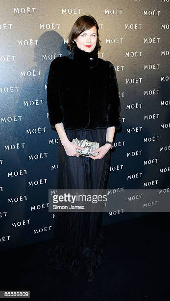 Jasmine Guinness attends the 'Moet Chandon A tribute to Cinema' at Big Sky Studios on March 24 2009 in London England