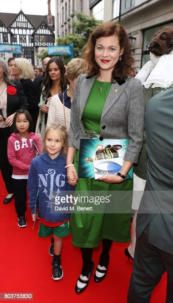Jasmine Guinness attends the press night performance of 'The Wind In The Willows' at the London Palladium on June 29 2017 in London England