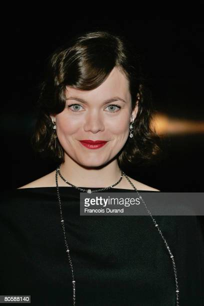 Jasmine Guinness attends the 'Writing Time', Robert Wilson's watch launch gala hosted by Montblanc during the Salon International de la Haute...