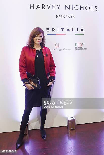 Jasmine Guinness attends VIP Launch party for Britannia at Harvey Nichols on November 10 2016 in London England
