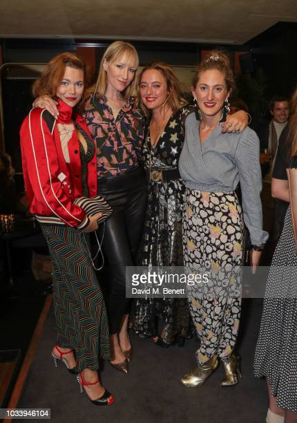 Jasmine Guinness Jade Parfitt Alice Temperley and Violet Von Westenholz attend the Temperley London SS19 after party hosted by Alice Temperley and...