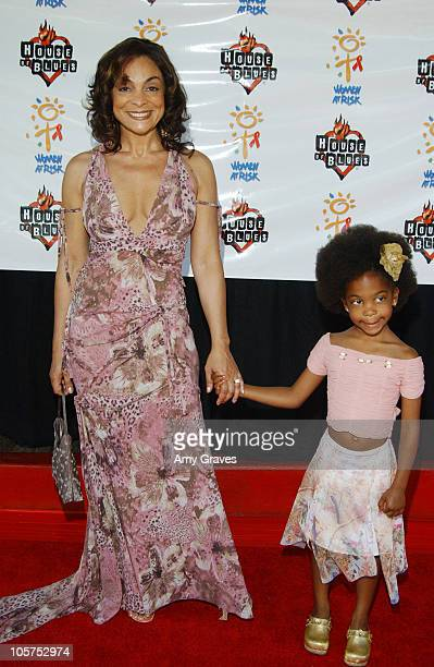 Jasmine Guy and daughter Imani during 7th Annual Women at Risk Gospel Brunch Fundraiser at House of Blues in West Hollywood California United States