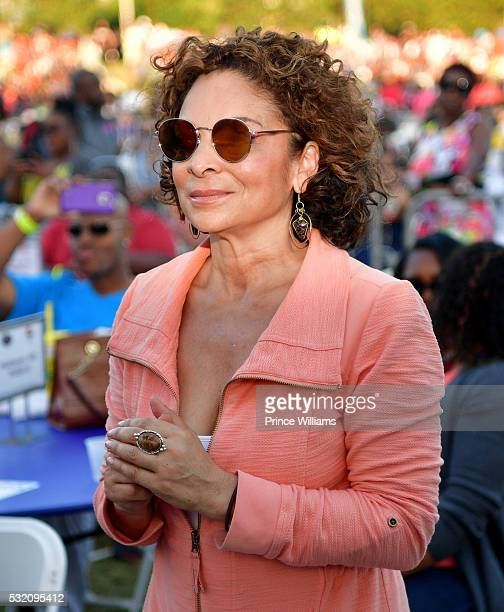 Jasmine Guy attends the Atlanta Funk Fest 2016 at Central Park Place on May 13, 2016 in Atlanta, Georgia.