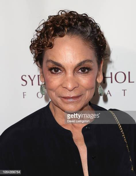 Jasmine Guy attends the Peggy Albrecht Friendly House's 29th Annual Awards Luncheon at The Beverly Hilton Hotel on October 27 2018 in Beverly Hills...