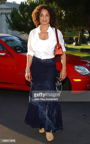 Jasmine Guy during Showtime TCA Summer Party at Hollywood Forever Cemetery in Hollywood California United States