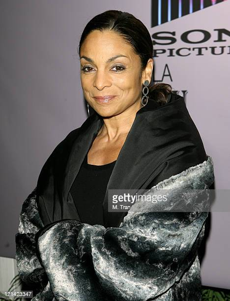 Jasmine Guy during The Boyle Heights Music and Arts Program Launch Arrivals at Boyle Heights School in Los Angeles California United States