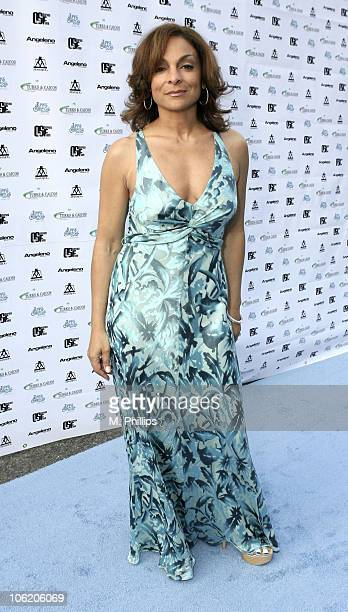 Jasmine Guy during Turks and Caicos International Film Festival Launch Party Inside at Hollwood American Legion Post in Los Angeles California United...
