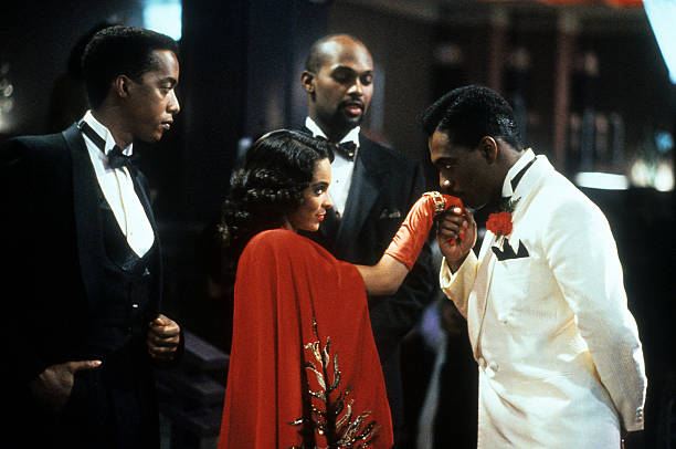 Jasmine Guy And Eddie Murphy In 'Harlem Nights'