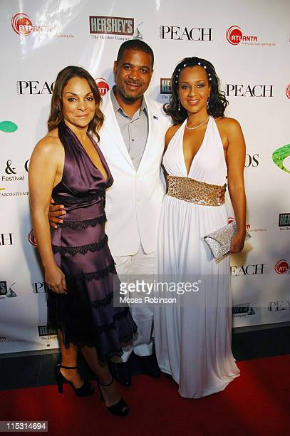 Jasmine Guy Premier of Turks Caicos Michael Misick and First Lady LisaRaye Misick