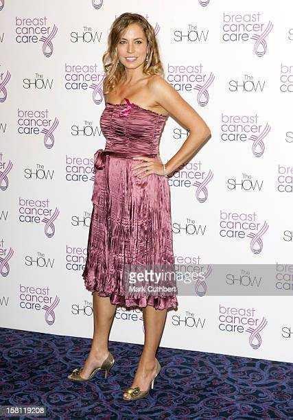 Jasmine Harman Arriving At The Show In Aid Of Breast Cancer Care Held At The Grosvenor Hotel In London