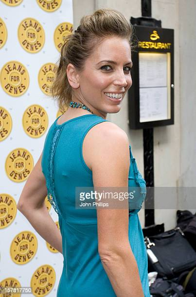 Jasmine Harman Arriving For The Jeans For Genes CelebriTee Party At The Sanctum Soho Hotel In Central London