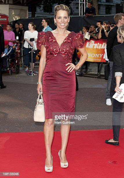 Jasmine Harman Arriving For The Uk Gala Premiere Of The Karate Kid At The Odeon West End Leicester Square London