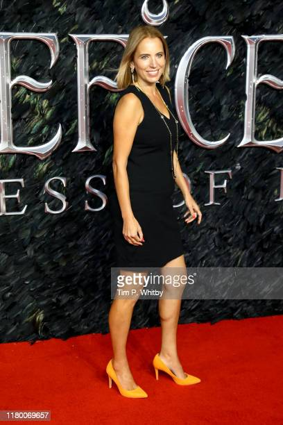 Jasmine Harman attends the European premiere of Maleficent Mistress of Evil at Odeon IMAX Waterloo on October 09 2019 in London England