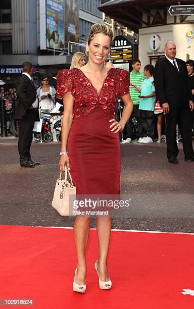 Jasmine Harman attends the Gala Premiere of 'The Karate Kid' at Odeon Leicester Square on July 15 2010 in London England