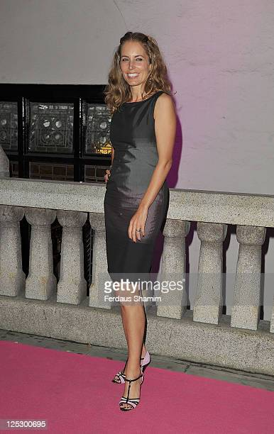 Jasmine Harman attends 'The Inspiration Awards For Women' at Cadogan Hall on October 6 2010 in London England