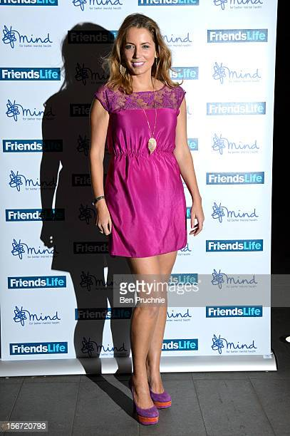 Jasmine Harman attends the Mind Mental Health Media Awards at BFI Southbank on November 19 2012 in London England