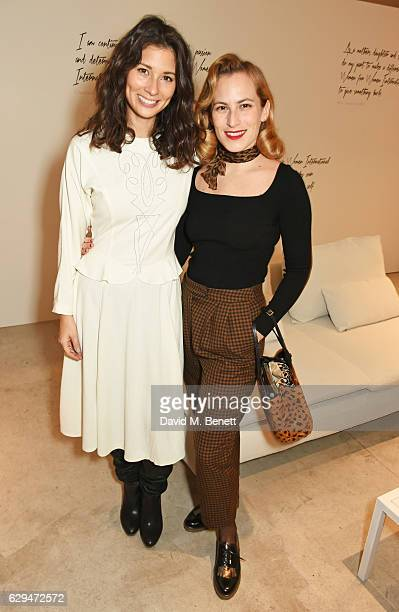 Jasmine Hemsley and Charlotte Dellal attend the VIP launch of #SheInspiresMe Fashion a limited edition designer collaboration in aid of Women For...
