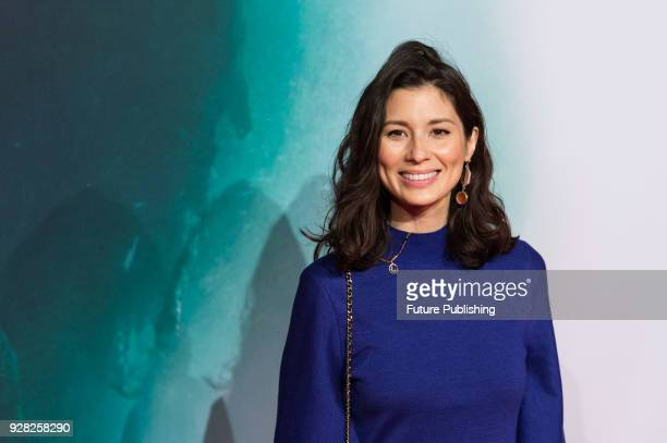 Jasmine Hemsley arrives for the European film premiere of 'Tomb Raider' at Vue West End cinema in London's Leicester Square March 6 2018 in London...