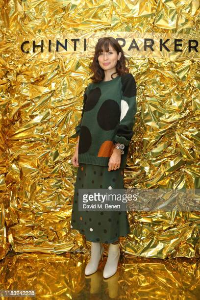 Jasmine Hemsley attends the celebration of Chinti & Parker's 10-year anniversary, and the launch of their capsule collection to mark the occasion,...