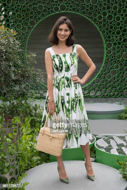 Jasmine Hemsley attends the Chelsea Flower Show 2018 on May 21 2018 in London England