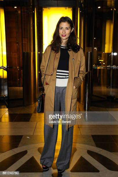 Jasmine Hemsley attends the launch of the Circular Fibres Initiate Report 'Towards A New Textiles Economy' hosted by Dame Ellen MacArthur and Stella...