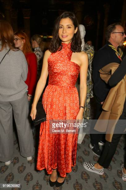 Jasmine Hemsley attends the Opening evening for the Australian Fashion Council's inaugural showroom in London celebrating KitX and sustainable...