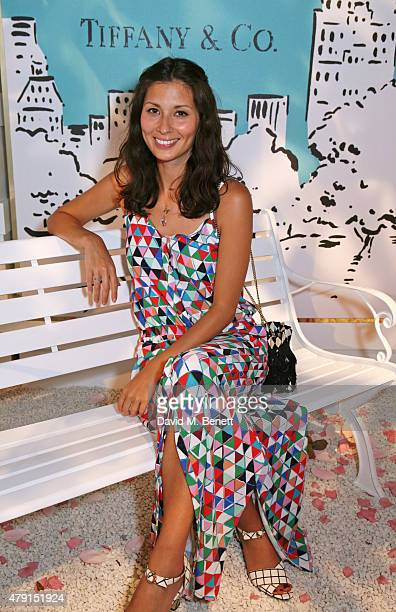 Jasmine Hemsley attends the Tiffany Co immersive exhibition 'Fifth 57th' at The Old Selfridges Hotel on July 1 2015 in London England