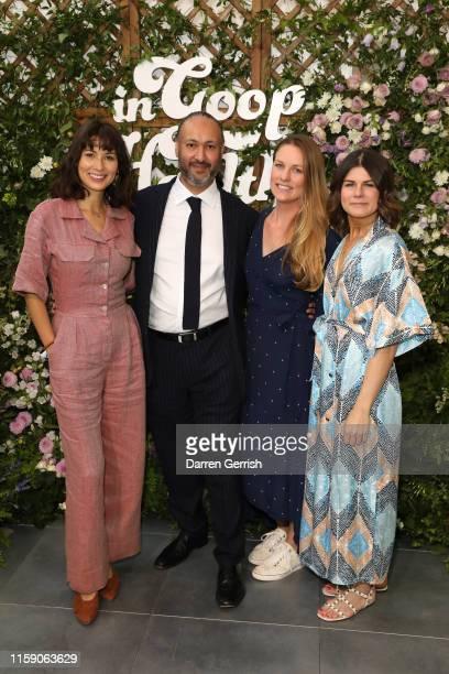 Jasmine Hemsley Raj Bachu Rosamund Yoxall and Eve Kalinik at In goop Health London 2019 on June 29 2019 in London England