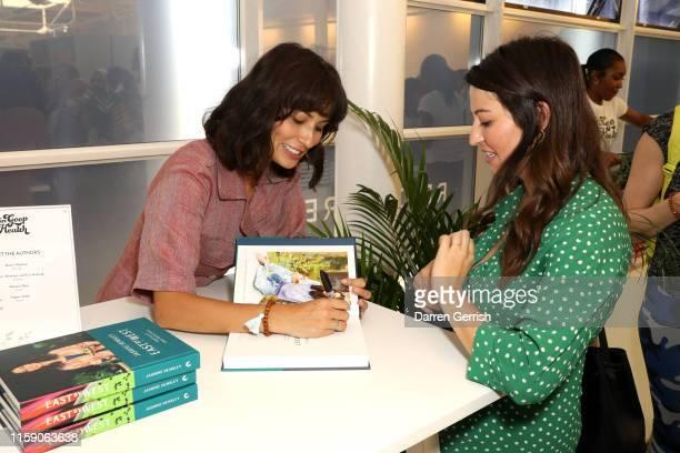 Jasmine Hemsley signs her book at In goop Health London 2019 on June 29 2019 in London England