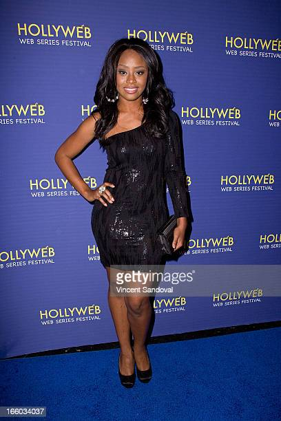 Jasmine Hester attends the 2nd annual HollyWeb Festival at Avalon on April 7 2013 in Hollywood California