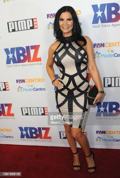 Jasmine Jane arrives for XBIZ Rise Adult Talent Appreciation Gala held at Exchange LA on November 14 2018 in Los Angeles California