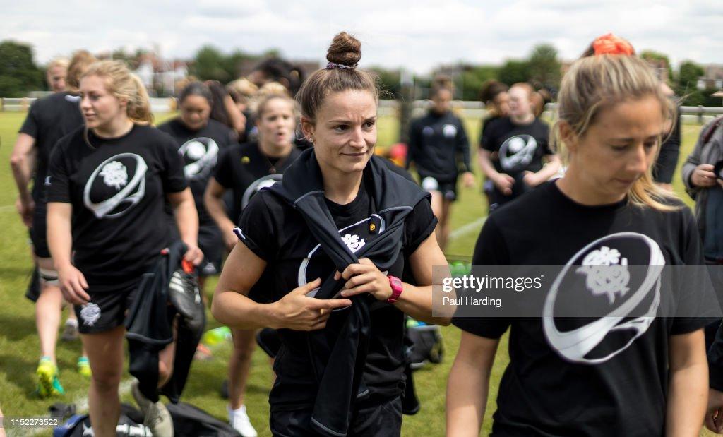 Barbarians Women Training : News Photo