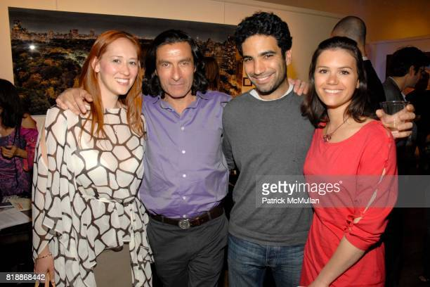 Jasmine Kracht Eric Allouche and attend Opera Gallery Opening Voigt Monet and Vukelic at Opera Gallery on April 15 2010 in New York City