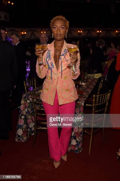 Jasmine LeeJones attends the after party of the 65th Evening Standard Theatre Awards In Association With Michael Kors at London Coliseum on November...