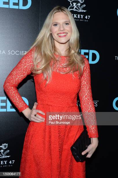 "Jasmine Lobe attends The Cinema Society & Monkey 47 Host A Special Screening Of Sony Pictures Classics' ""Greed"" at Cinepolis Chelsea on February 24,..."