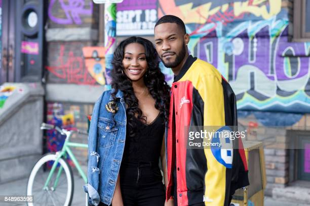 Jasmine Luv and Kendall Kyndall arrive for VH1's Hip Hop Honors The 90's Game Changers at Paramount Studios on September 17 2017 in Hollywood...