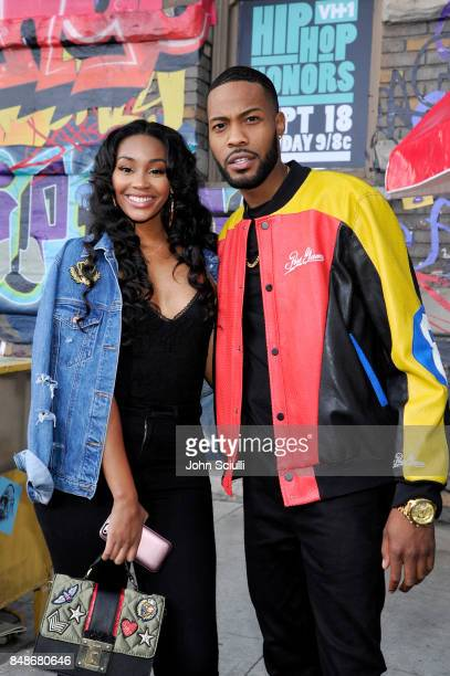 Jasmine Luv and Kendall Kyndall attend VH1 Hip Hop Honors The 90s Game Changers at Paramount Studios on September 17 2017 in Los Angeles California
