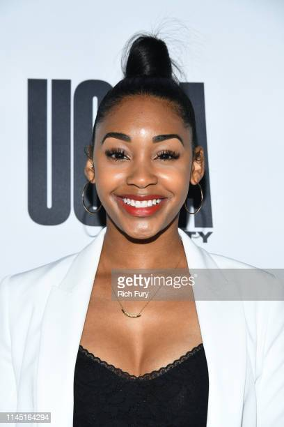 Jasmine Luv at House Of Uoma Presents The Launch Of Uoma Beauty The World's First Afropolitan Makeup Brand at NeueHouse Hollywood on April 25 2019 in...