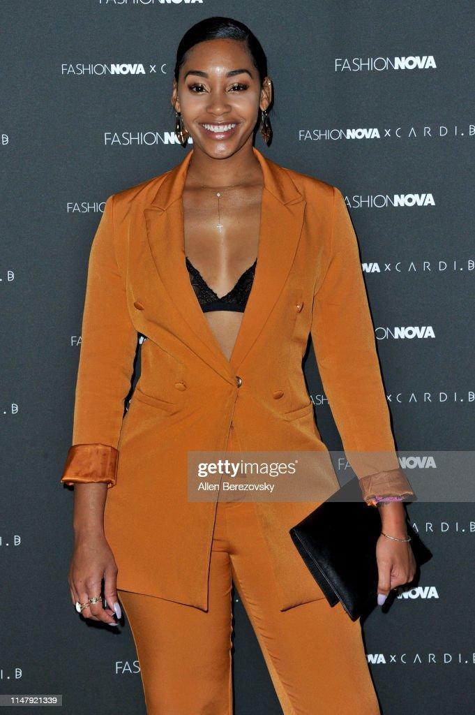 Fashion Nova x Cardi B Collection Launch Party - Arrivals : News Photo