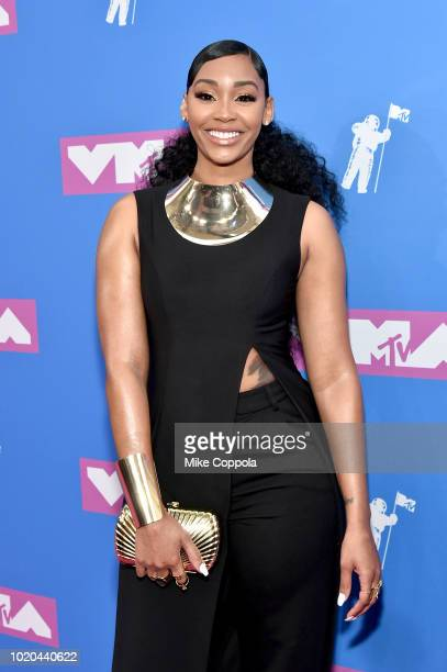 Jasmine Luv attends the 2018 MTV Video Music Awards at Radio City Music Hall on August 20 2018 in New York City