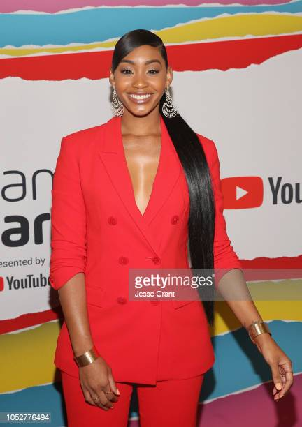 Jasmine Luv attends The 8th Annual Streamy Awards at The Beverly Hilton Hotel on October 22 2018 in Beverly Hills California