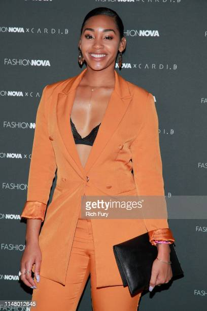 Jasmine Luv attends the Fashion Nova x Cardi B Collection Launch Party at Hollywood Palladium on May 08 2019 in Los Angeles California