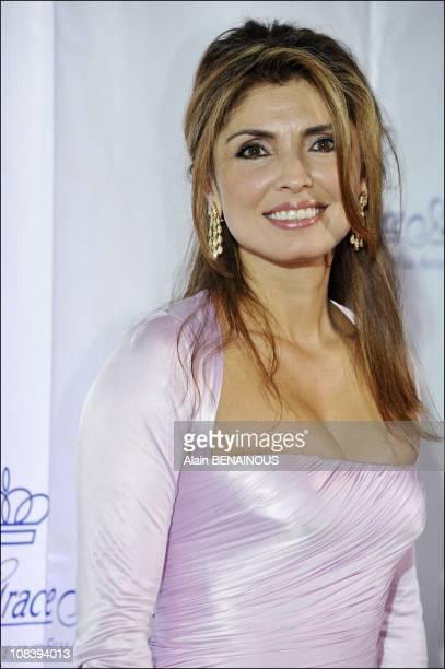 Jasmine Pahlavi wife of Prince Reza Pahlavi in New York United States on October 15th 2008