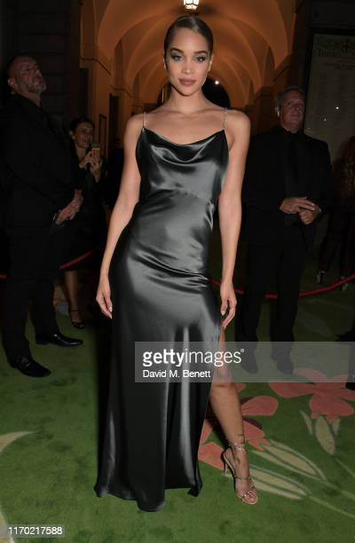 Jasmine Sanders aka Golden Barbie attends The Green Carpet Fashion Awards, Italia 2019, hosted by CNMI & Eco-Age, at Teatro Alla Scala on September...