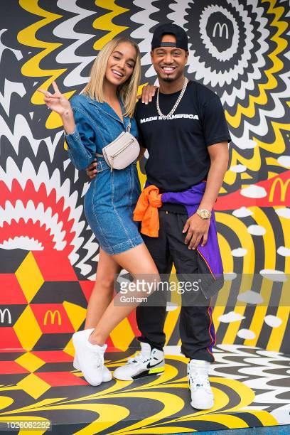 Jasmine Sanders and Terence J attend Made In America Festival on September 1 2018 in Philadelphia Pennsylvania