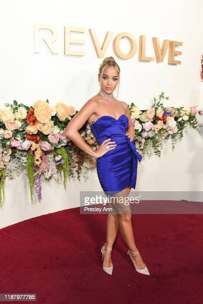Jasmine Sanders attends 3rd Annual #REVOLVEawards at Goya Studios on November 15 2019 in Hollywood California