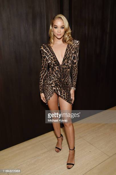 Jasmine Sanders attends an Exclusive Preview of The West Hollywood EDITION on October 29, 2019 in West Hollywood, California.